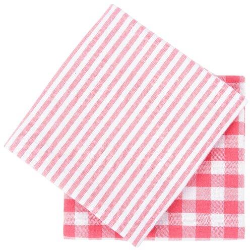 Arya Набор кухонных полотенец Kusumi кухонное 45х70 см розовый полотенца arya комплект из 6 ти полотенец arya birdy 30 30 см бело розовый
