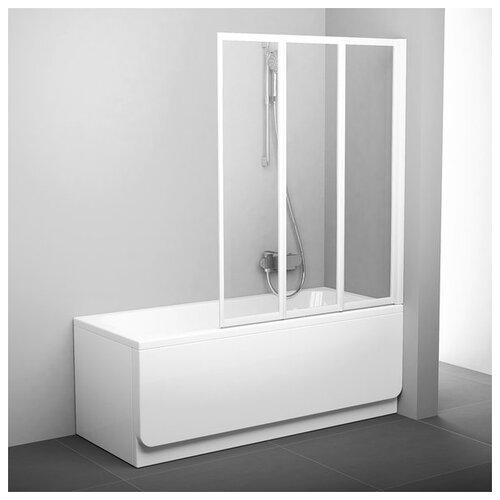 Душевая шторка RAVAK VS3-130 Transparent белый