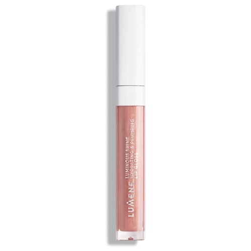 Купить Lumene блеск для губ Luminous Shine Hydrating & Plumping Lip Gloss, 11 old rose