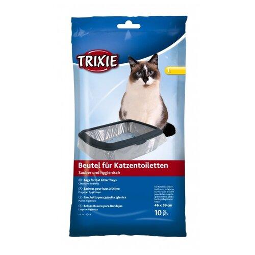 Пакеты для выгула для кошек TRIXIE L 4044 прозрачный 10 шт.