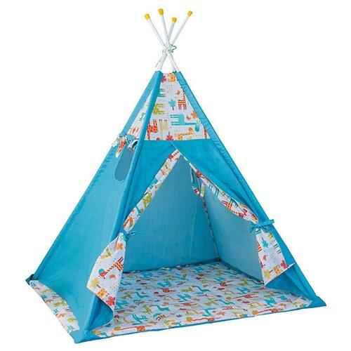 Купить Палатка Polini Жираф голубой, Игровые домики и палатки