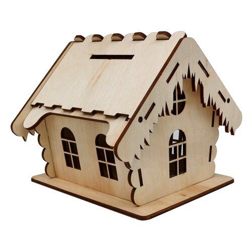 Купить Astra & Craft Деревянная заготовка для декорирования Домик №2 L-1090 береза, Декоративные элементы и материалы