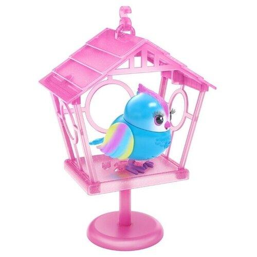 Купить Moose Little Live Pets Интерактивная птичка в скворечнике Твитти-Радуга 26102, Роботы и трансформеры