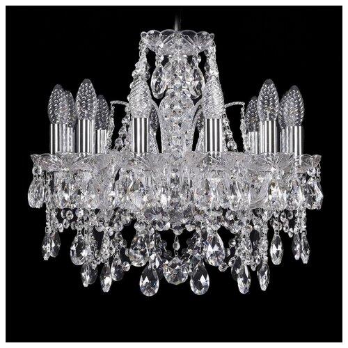 Фото - Люстра Bohemia Ivele Crystal 1411 1411/12/141/Ni, E14, 480 Вт люстра bohemia ivele crystal 1411 1411 6 141 g e14 240 вт