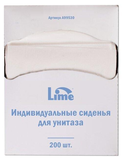 Покрытия на унитаз Lime 1/4 сложения 99530