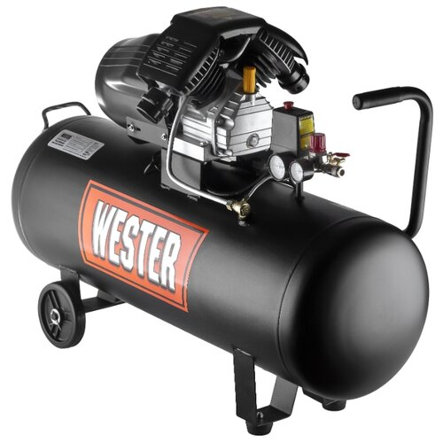 Компрессор масляный Wester WK2200/100PRO, 100 л, 2.2 кВт