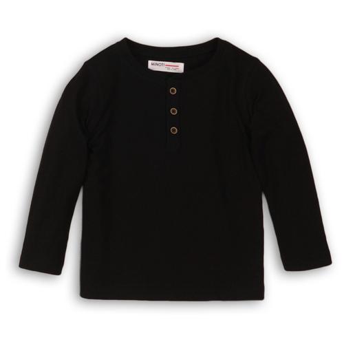 Лонгслив Minoti размер 9-10 л, черный платье minoti размер 9 10 л черный
