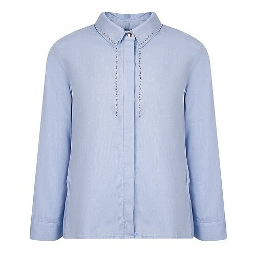 Блузка Mayoral размер 128, голубой