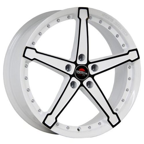 Фото - Колесный диск Yokatta Model-10 8x18/5x108 D63.3 ET45 W+B колесный диск yokatta model 58 8x19 5x108 d63 3 et45 sp