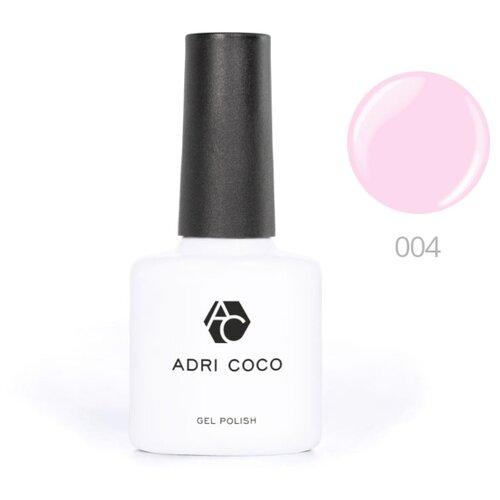 Гель-лак для ногтей ADRICOCO Gel Polish, 8 мл, оттенок 004 розовый