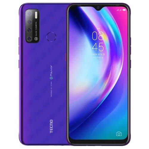 Смартфон TECNO Pouvoir 4, фиолетовый недорого