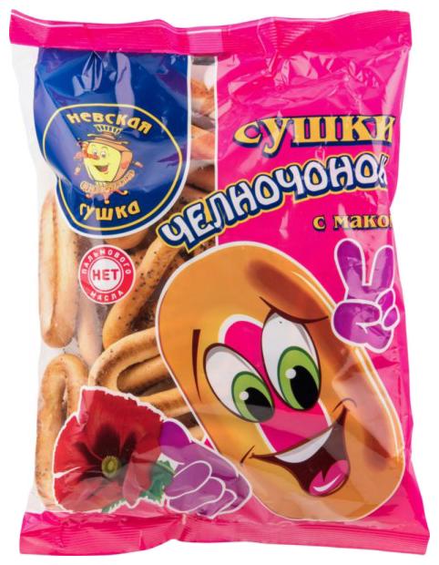 Сушки Невская Сушка Челночонок с маком 350 г
