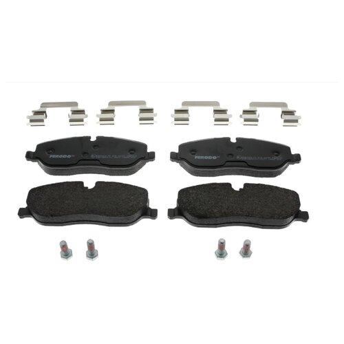 цена на Дисковые тормозные колодки передние Ferodo FDB1615 для Land Rover Range Rover Sport, Land Rover Discovery, Land Rover Range Rover (4 шт.)