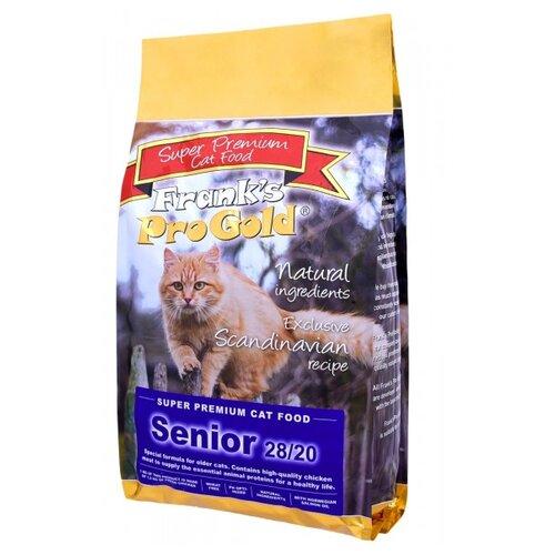 Корм для пожилых кошек Frank's Pro Gold с курицей 3 кг