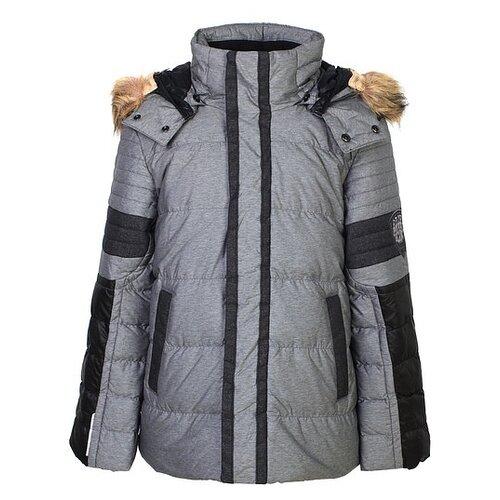 Фото - Пуховик Poivre Blanc 268787 размер 128, серый куртка poivre blanc размер 128 true blue multi
