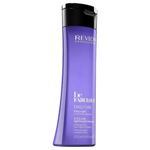 Revlon Professional шампунь Be Fabulous Daily Care Fine Hair C.R.E.A.M. lightweight 250 мл revlon professional be fabulous c r e a m shampoo for fine hair очищающий шампунь для тонких волос 250 мл
