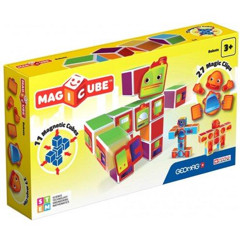 Купить Магнитный конструктор GEOMAG Magicube 142-11 Роботы, Конструкторы