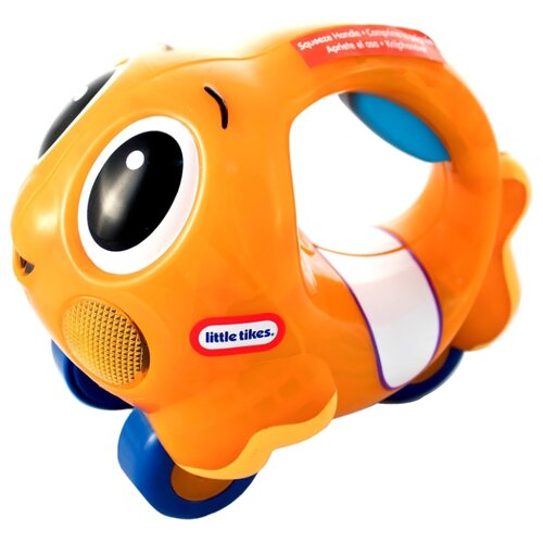 Каталка-игрушка Little Tikes Lil' Ocean Explorers Push 'n Glow Fish (639739) оранжевый цена 2017