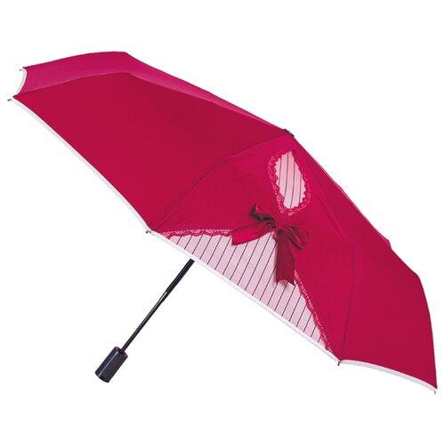 Зонт автомат FLIORAJ Кокетка красный
