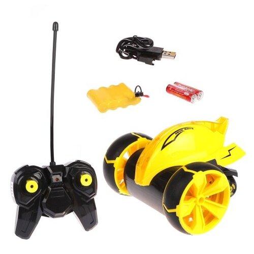 Купить Машина-перевертыш р/у Наша Игрушка 4 канала, свет, аккумулятор, USB шнур (5588-612), Наша игрушка, Радиоуправляемые игрушки
