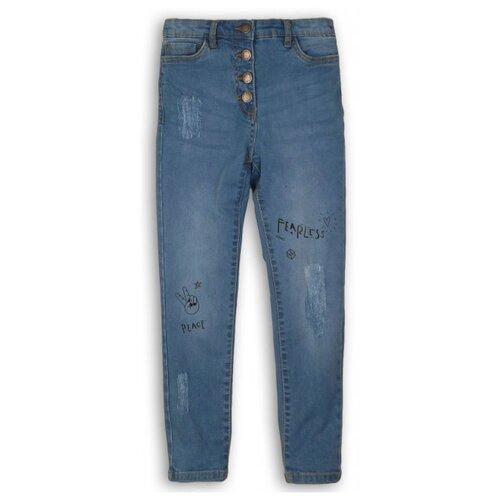 Джинсы Minoti размер 7-8л, синий худи minoti размер 7 8л серый