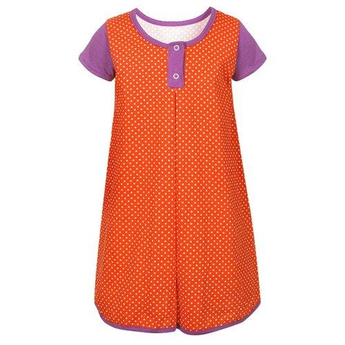 Платье M&D размер 116, фиолетовый