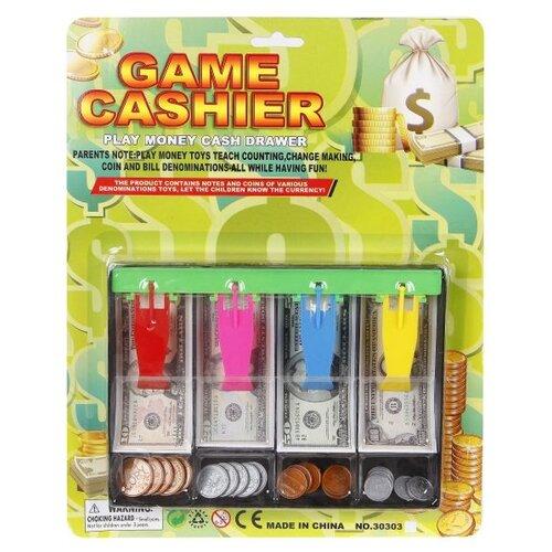 Лоток для игрушечных денег Наша Игрушка банкноты, монеты №2 (30303U)