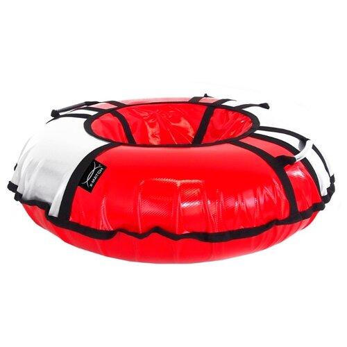 цена на Тюбинг X-Match 581809 (110 см) серо-красный
