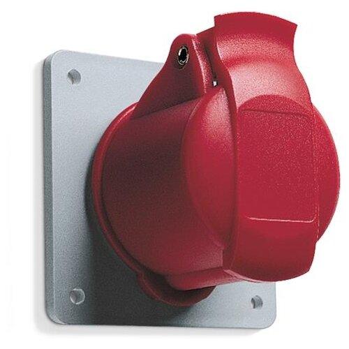 Розетка силовая (CEE) панельная (фланцевая) ABB 2CMA193187R1000 рукоятка для силовых выключателей разъединителей abb 1sca108690r1001