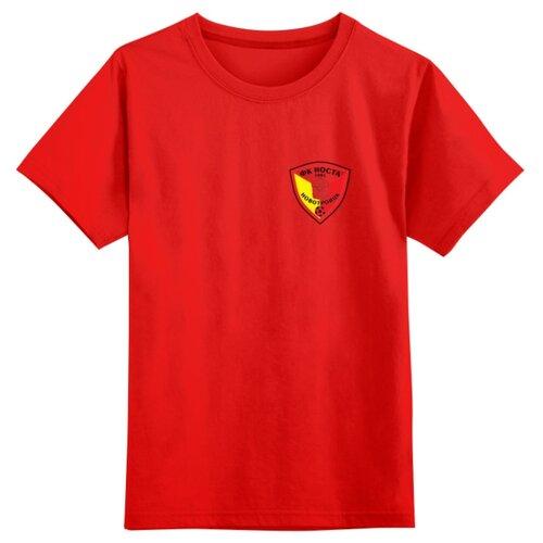 Купить Футболка Printio размер 5XS, красный, Футболки и майки