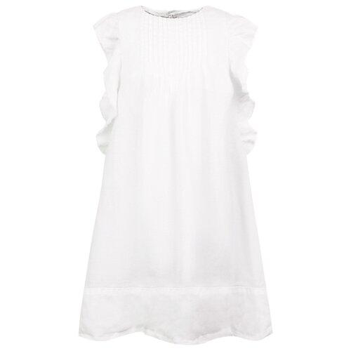 Платье Il Gufo размер 128, белый