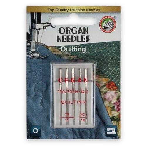 Игла/иглы Organ Quilting серебристый