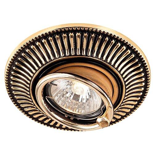 Встраиваемый светильник Novotech Vintage 369860 встраиваемый светильник novotech vintage 369943