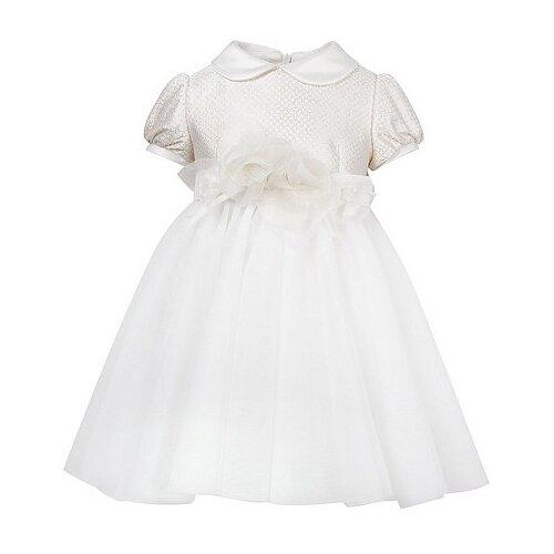 Платье ColoriChiari размер 80, кремовый/золотой