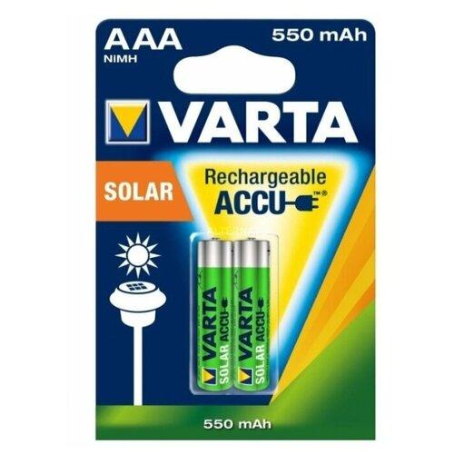 Фото - Аккумулятор Ni-Mh 550 мА·ч VARTA Recharge Accu Solar AAA 550, 2 шт. smart sdc 550