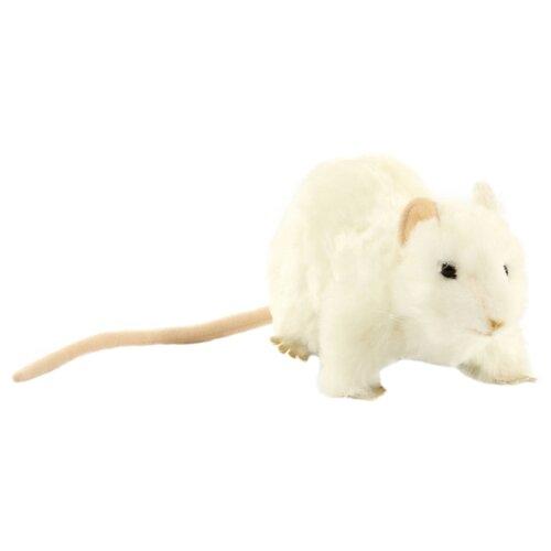 Мягкая игрушка Hansa Крыса белая 19 см мягкая игрушка hansa детёныш леопарда 18 см