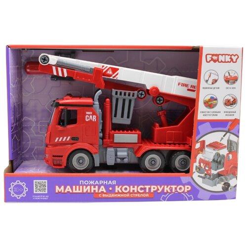 Купить Винтовой конструктор Funky Toys Пожарная машина FT61113, Конструкторы