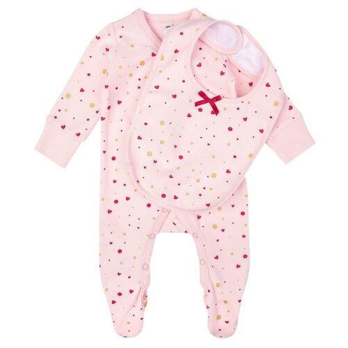 Комплект одежды playToday размер 62, розовый комплект playtoday комплект