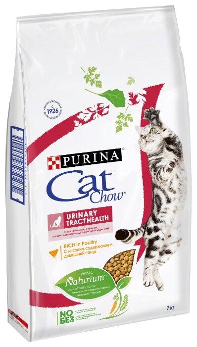 Корм для кошек CAT CHOW для профилактики МКБ, с курицей