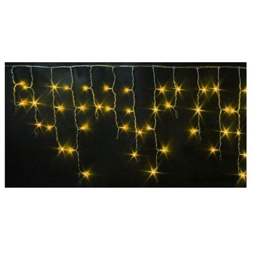 Гирлянда Rich LED Бахрома RL-i3*0.5-T, 300 х 50 см, 112 ламп, желтые диоды/прозрачный провод