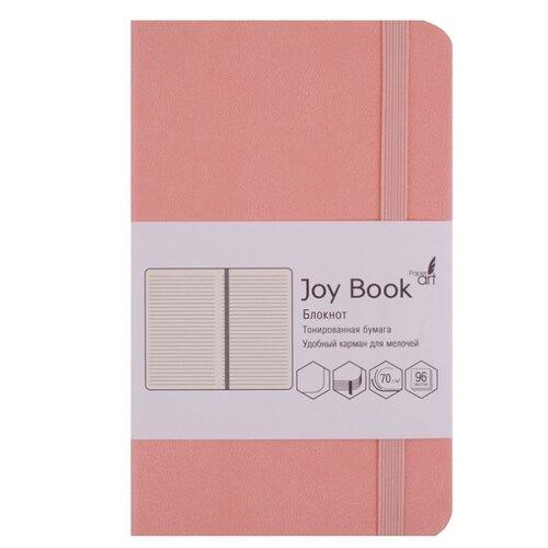 Купить Блокнот Канц-Эксмо Joy Book. Нежный коралловый А5, 96 листов (БДБЛ5962917), Блокноты