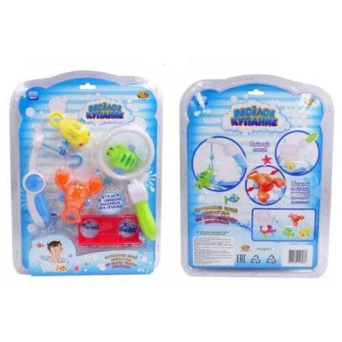 Рыбалка Junfa toys Весёлое купание PT-01047 разноцветный