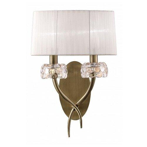 Настенный светильник Mantra Loewe 4734, 26 Вт бра mantra loewe 4635