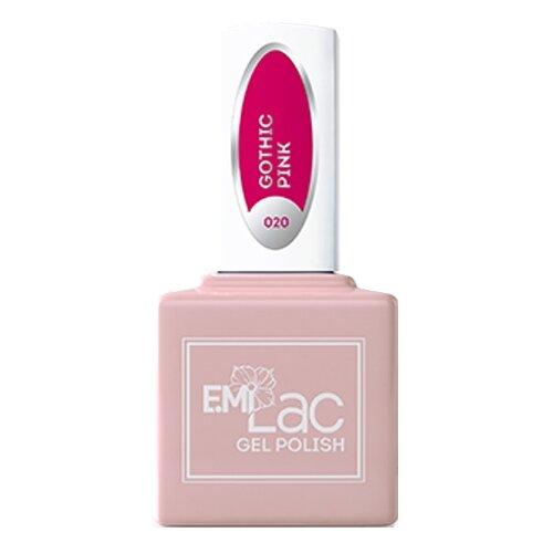 Фото - Гель-лак для ногтей E.Mi gel polish, 9 мл, 020 Готический розовый гель лак для ногтей claresa gel polish 5 мл оттенок purple 610