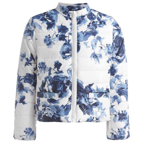 Купить Куртка Gulliver 11907GJC4101 размер 134, белый, Куртки и пуховики