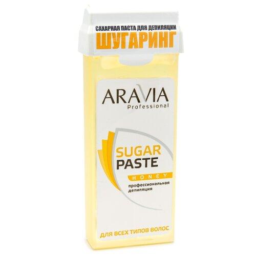 Паста для шугаринга ARAVIA Professional Медовая в картридже 150 г aravia professional сахарная паста в картридже натуральная 150 г