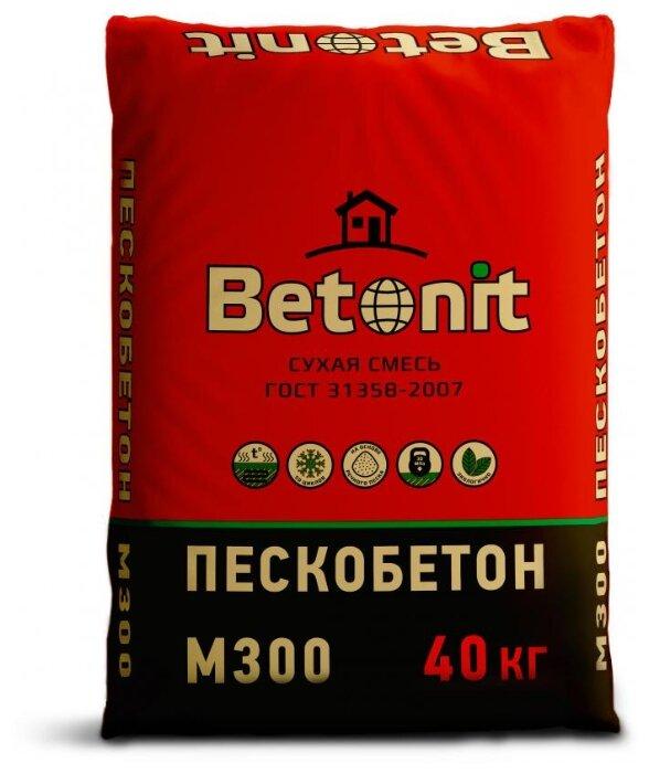 Пескобетон Бетонит М-300, 40 кг