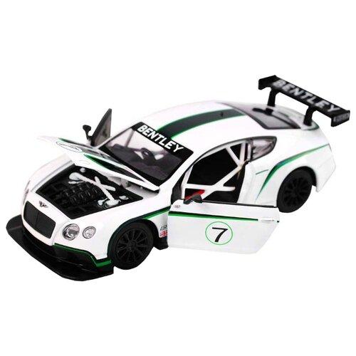 Легковой автомобиль Автопанорама Bentley Continental GT3 Concept (JB1200125) 1:24 19.8 см белыйМашинки и техника<br>
