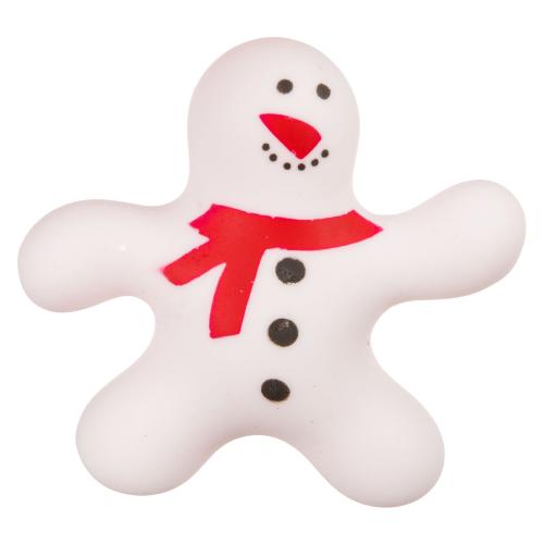 Купить Игрушка-мялка BONDIBON Чудики. Снеговик (ВВ3578) белый, Игрушки-антистресс