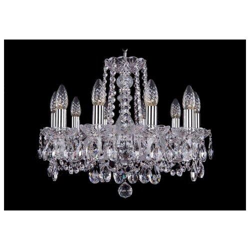 Люстра Bohemia Ivele Crystal 1402 1402/10/160/Ni, E14, 400 Вт люстра bohemia ivele crystal 1402 1402 4 160 g e14 160 вт